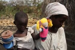 Hellen's moeder in Baringo Kenia