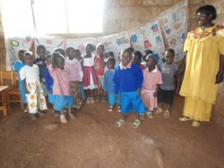 Donyo Coffee Nursery School, Baringo, Kenia