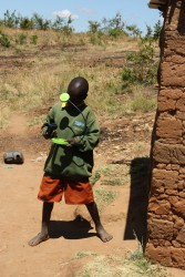 Solar lamp, Peter, Mithini Ithanga, Kenia