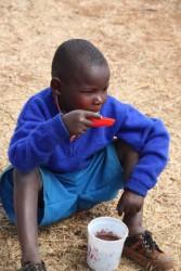 Baringo, Kenia, Donyo Coffee Primary School, Doughlas