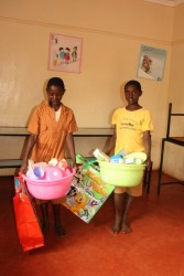 Gatanga, Furaha Children's Centre, Mary en Samuel