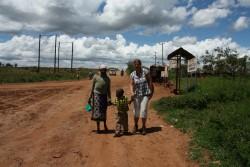 Kilimambogo, community of Hope, moeder Doughlas