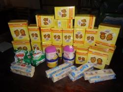 Special baby formula, baby Wambua, baby MaryGrace