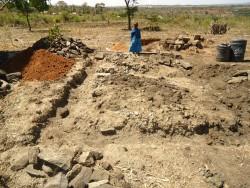 Baringo, de lijnen voor het nieuwe huis zijn uitgezet