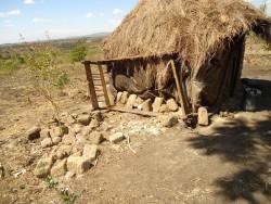 Bergen Barigo, keuken Catherine, oude bed tegen de muur