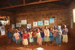 Donyo Coffee Nursery Class, Baringo, Kenia