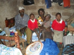 Joseph Elim family, support beds, crisis aid, family empowerment