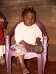 MaryGrace, de engel van Circle4life, Kilimambogo, Kenia