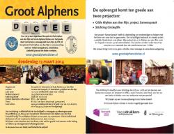 Groot Alphens Dictee 2014, Goede doelen, Circle4life, stichting, kansarme vrouwen en kinderen Kenia, Francisca Baringo