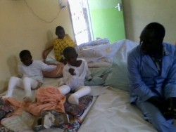 medische zorg Faith en Mercy Circle4life, Kenya, Kyeleni, kinderen handicap