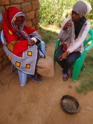 Counseling by Social worker Margarete Njeri, Circle4life Kenya, medical aid, AIDS
