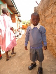John, Mithini, school uniform, education, school support, Circle4life, Kenya