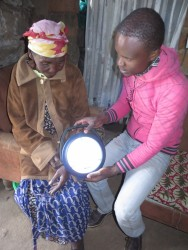 Solar light project, Circle4life Kenya, family empowerment, fieldworker, Victor Muasya, counseling