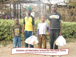 Machakos School for the Deaf, Joseph, Stephen, Mike Tyson, special education Circle4life Kenya