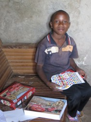 Stephen thuis in Kwetu, speciaal onderwijs, Circle4life Kenia