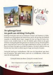 Uitnodiging Wijnproeverij Restaurant & Hotel De Watergeus 2 november 2014, sponsoractie, Soroptimistclub International Alphen aan den Rijn, Circle4life