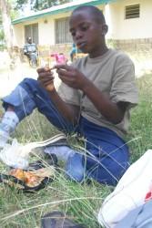 Mike Tyson Owino, Machakos, Kenya, School for the Deaf Children