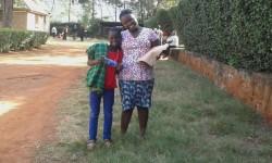 Felistar en haar zusje Christine, ol Donyo Sabuk, Kenia, family empowerment, crisis hulp