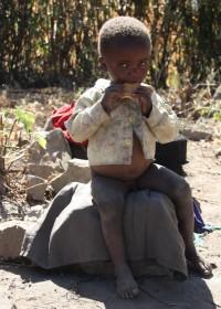 Joshua, het twee jarige jongetje met TB