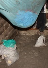 Baringo, Kenia, het huisje van binnen