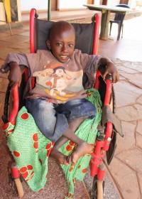 Felix, rolstoel, Donyo Sabuk, Kenia