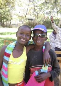 Machakos, Central Kenya, Esther and Tyson