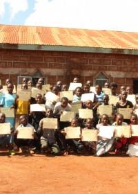 Donyo Sabuk, Kenia, Groepsfoto Disc April 2012 Seminar