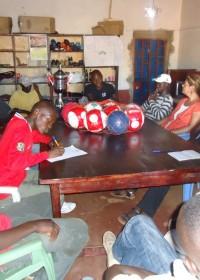 Donyo Sabuk, Kenia, Disc, vergadering Harman Peace Tournament April 2012
