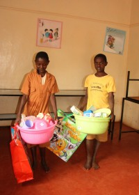 Gatanga, Kenia, Mary en Samuel kindertehuis Gatanga Furaha Children's Centre
