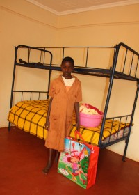 Mary, bedroom Gatanga Furaha Children's Centre