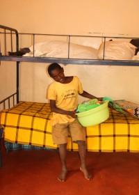 Samuel, bedroom Gatanga Furaha Children's Centre