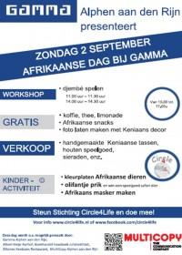Kleurplaten Maskers Afrika.Afrika Dag Bij Gamma Bouwmarkt Stichting Circle4life