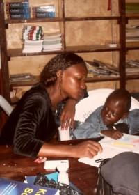 Felix, kleuteronderwijs DISC, Donyo Sabuk, Kenia