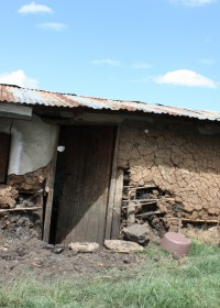Huis Esther Mdile, rural area Ndulya, Kenia
