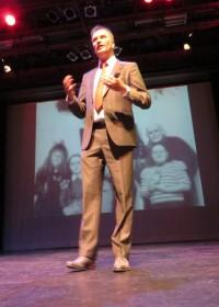 Schrijver Marcel van Driel over zijn Waanzinnige Plannen, Circle4life, Parktheater