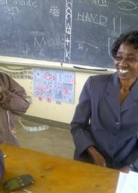 Stephen, juf, Machakos school for the Deaf, Circle4life Kenya