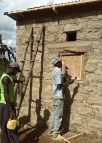 Home construction, crisis aid, family empowerment, Circle4life Kenya, Francisca