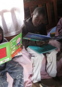 Drie broertjes, alledrie even gemotiveerd om te leren, Kenia, Kitambasya, Circle4life Kenya