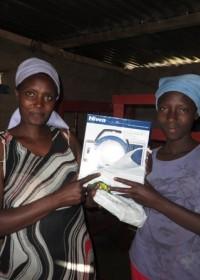 Family empowerment Circle4life Kenia, solar light program, Miriam Njambi, Circle4life CBO