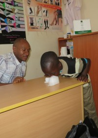 Physio, excersizes for therapy, crisis aid, Circle4life Kenya