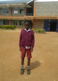 Kevin Johanna, in april start zijn nieuwe schoolleven... op naar kostschool Heigths Academy, education, family empowerment, Circle4life Kenya