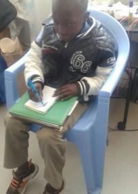 Charles Musyoki (9), medische begeleiding, kinderen met een handicap Kenya, Circle4life