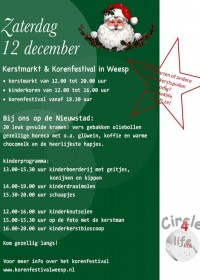 Kerstmarkt & Korenfestival, Weesp, 12 december 2015, Goede doel, Circle4life, Kenia