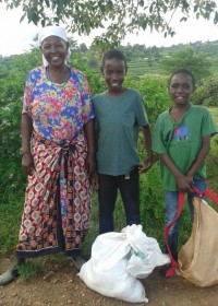 Family empowerment, voedselpakket Kitambasya, Kenya