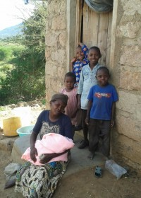 Family empowerment, maandelijkse basis voedselpakket, Uamani, Kenya