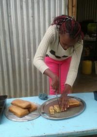 Het eindresultaat van een oefensessie cake en broodbakken met de Cookswell Business Oven