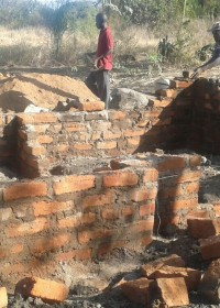 Crisis hulp, Circle4life Kenya, Kitambaasye, home construction