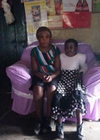 Anastaccia en zusje Mercy, education, special need children, Circle4life Kenya