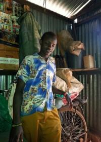 Samuel, de 17 jarig zoon van Waweru, Gatanga, Kenia, Circle4life Education
