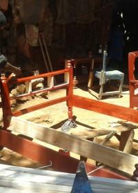 Een zesmaanden training bij de locale fundi voor Kennedy, Donyo Sabuk, Kenya, Circle4life education